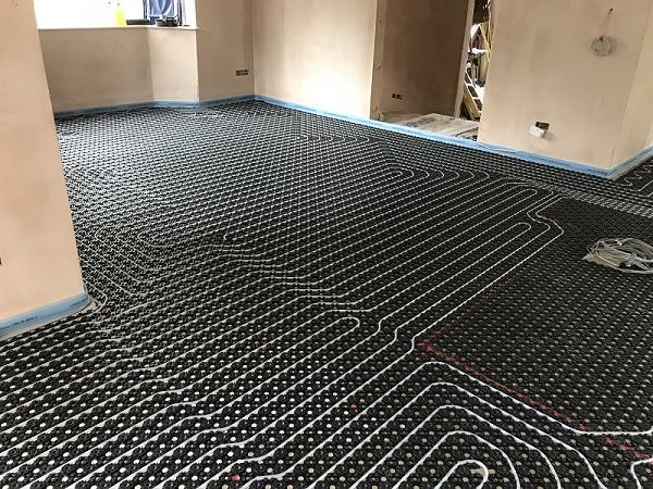 underfloor heating repairs commercial